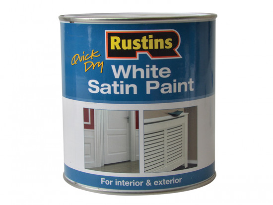 White Satin Paint 1 Litre