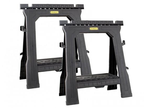 Folding Sawhorses (Twin Pack)