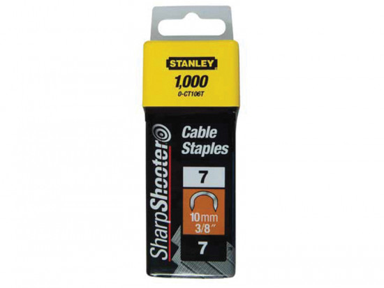 Cable Staples Type 7 CT100 10mm CT106T Pack 1000