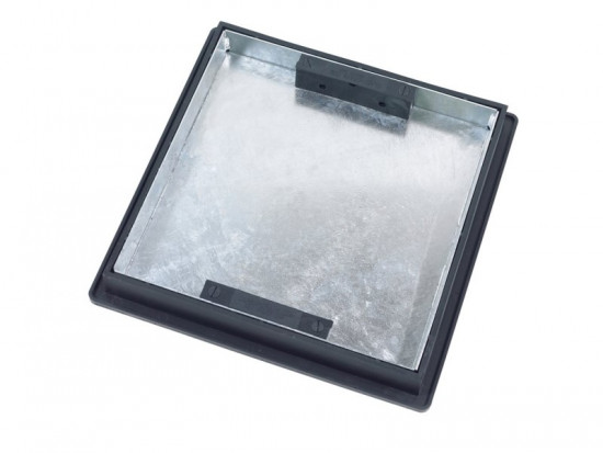 440 x 440mm x 52mm Sealed Recessed Locking Manhole Cover and Frame T1G3