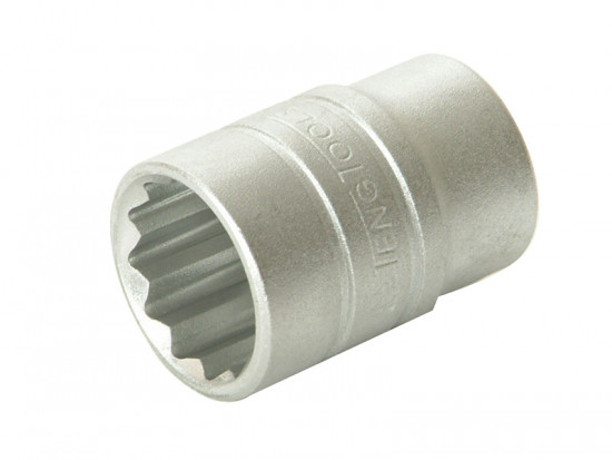 Bi-Hexagon Socket 12 Point Regular A/F 1/2in Drive 1/2in