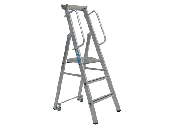 Mobile Mastersteps Platform Height 2.59m 10 Rungs