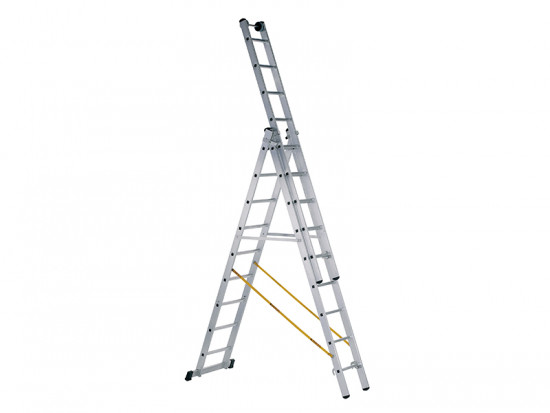 Skymaster Industrial Combination Ladder 3-Part 3 x 10 Rungs