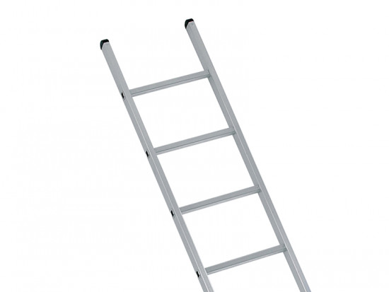 Industrial Single Aluminium Ladder 3.05m 10 Rungs