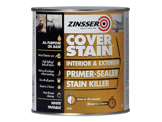Cover Stain Primer / Finish Paint 1 Litre