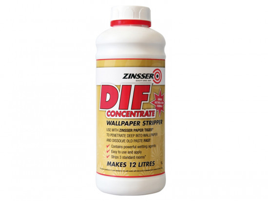 DIF Wallpaper Stripper Concentrate 1 Litre
