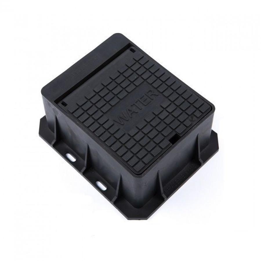 140 x 115 x 75 Polypropylene Hinged Stop Tap Box