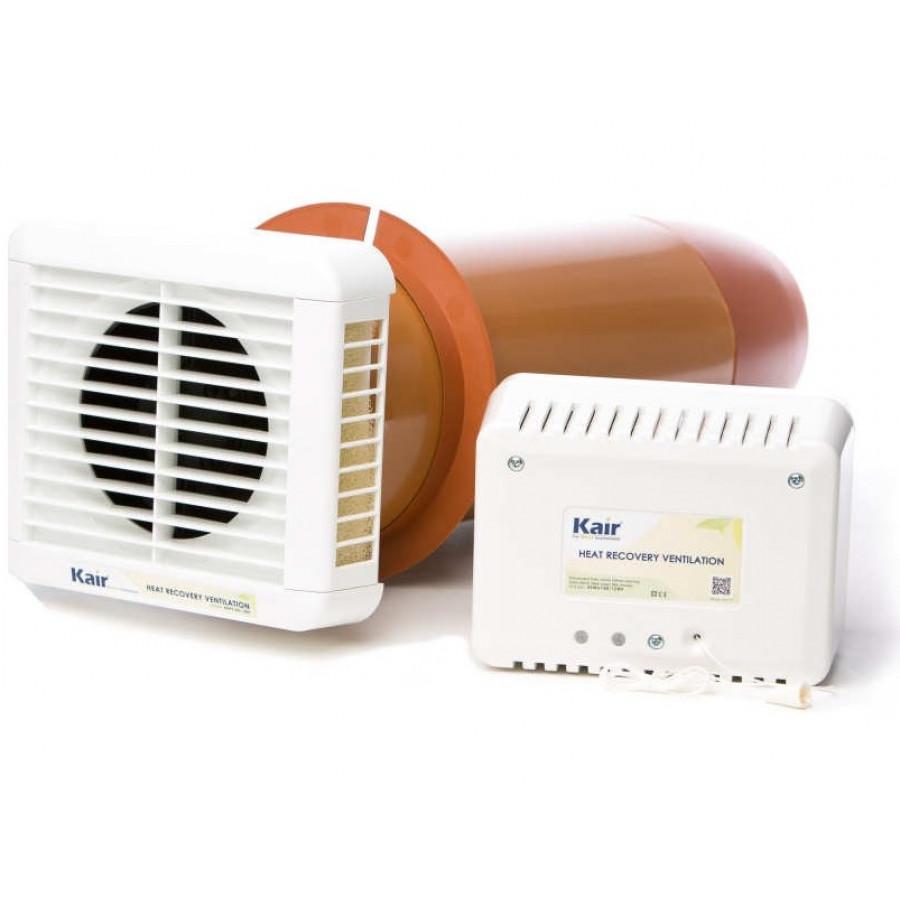 Heat Recovery Extractor Fan Single Room HRV150