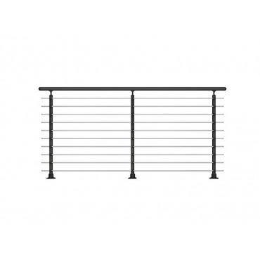 Prova 10 Floor Mounted Handrail/Banister System Extention Kit 2 Metre