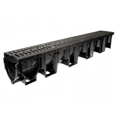 1m Hexdrain Pro Plastic Channel C250