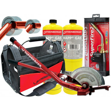 Superfire 2 Torch With Multibender, Pipeslice, Case and Mapp Gas