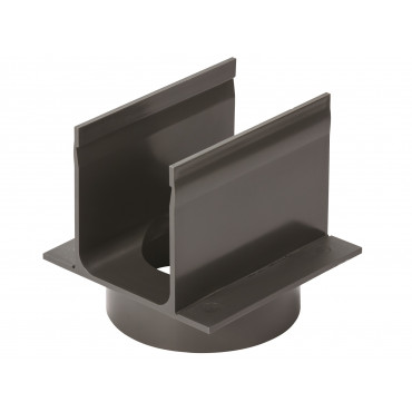 Bifold Door Threshold Drainage 80mm Bottom Outlet