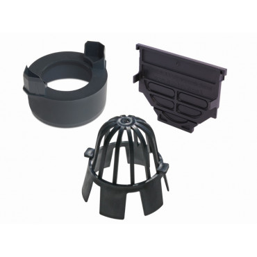 HexDrain Black Accessory Kit Pack Bag 19287