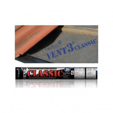 Vent 3 Classic Breathable Roofing Membrane 1m x 50m 115gsm