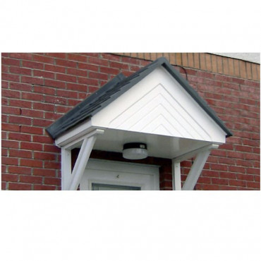 Windsor Duo Pitch Chefron Feature GRP Door Canopy