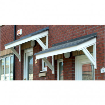 Cheltenham Mono Pitch GRP Door Canopy