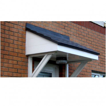 Taunton Mono Pitch GRP Door Canopy
