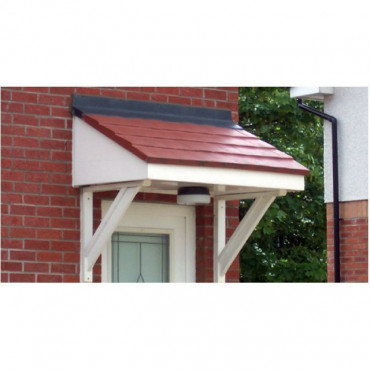 Plumbton Mono Pitch GRP Door Canopy