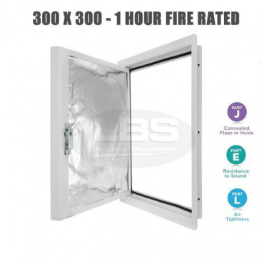 Metal Fire Rated Access Panel - Inspection Hatch 300 x 300