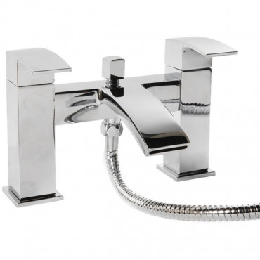 Ely Contemporary Bath And Shower Mixer