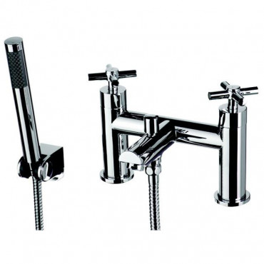 Usk Contemporary Bath And Shower Mixer