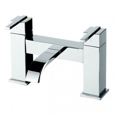 Aeron Contemporary Bath Filler Tap
