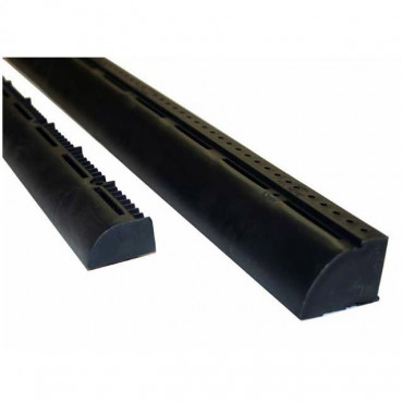 Over Fascia Vent 1m Black