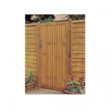 Weston Closeboard Garden Gate Brown 1.82m