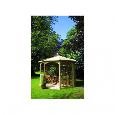 Regis Gazebo Octagon Dressed A