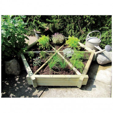 Herb Wheel Garden Planter
