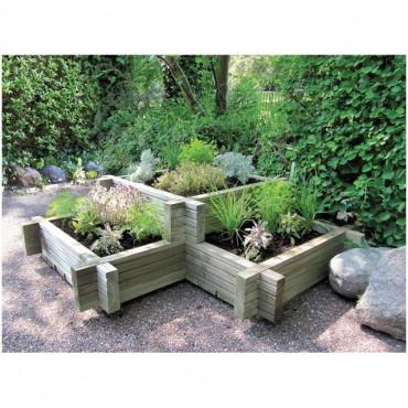 Corner Garden Planter
