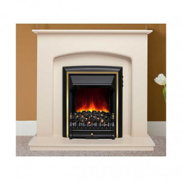 Lusso 48 Inch Electric Fireplace Suite