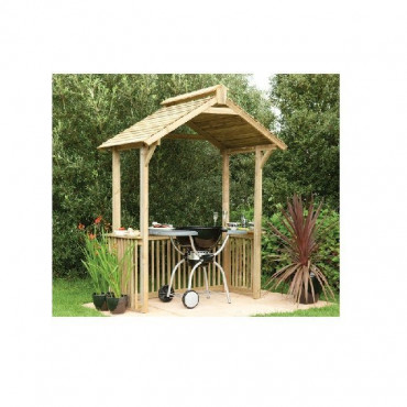 Garden BBQ Shelter Arch