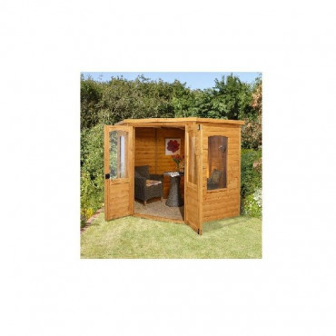 7x7 Cranbourne Corner Summerhouse