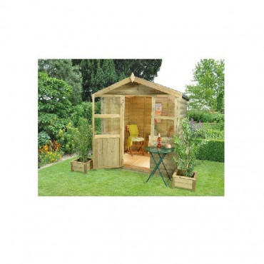 Charlebury Summerhouse - 6x6 Shiplap Apex Pressure Treated