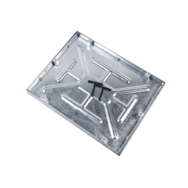 600 x 450 x 46mm 5T Sealed and Locking Manhole Cover Comes With Lifting Keys
