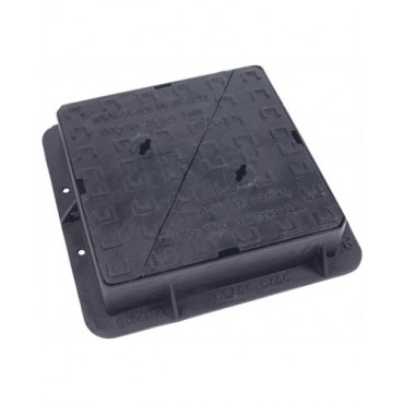 450 x 450 x 100mm Double Triangle Ductile Iron Manhole Cover CD755KMD