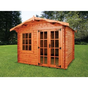 Charnwood – A Log Cabin
