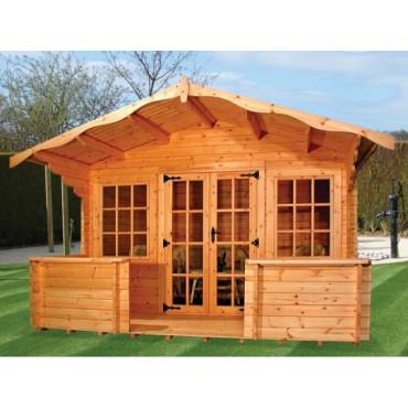 Charnwood – D Log Cabin