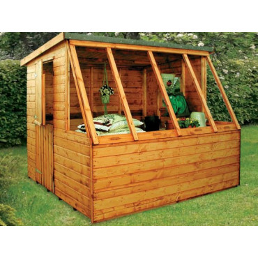 Dual Corner And Potting Shed