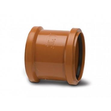 110mm Underground Drain Slip Coupling Double Socket UG401