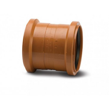 Underground Drain Coupling Double Socket 110mm UG402