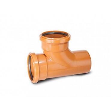 110 x 110mm x 87.5 Deg Underground Drain Junction Double Socket UG424