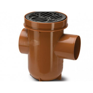 110mm Underground Drain Bottle Gully Back Inlet UG427