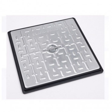 450 x 450 Galvanised Manhole Cover & Frame 10T GPW PC5CG