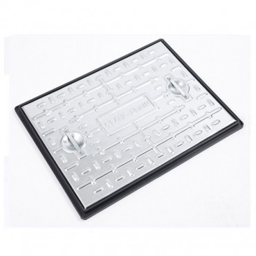 600 x 450mm Galvanised Manhole Cover & Frame Pedestrian