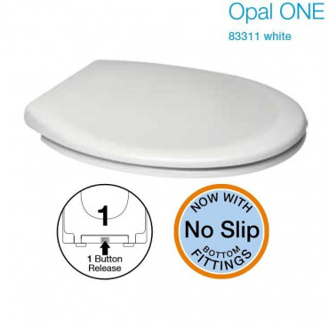 Opal ONE Toilet Seat Soft Close Quick Release Easy Clean Anti Bac