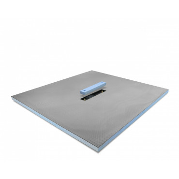 Linear Center drain wet room shower tray