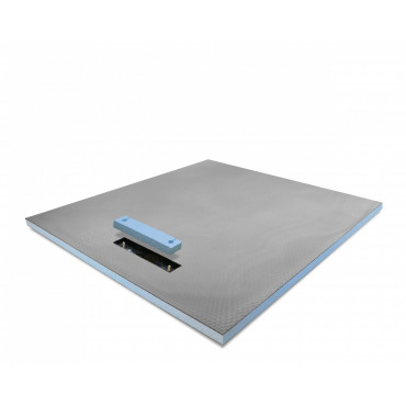 Linear End drain wet room shower tray