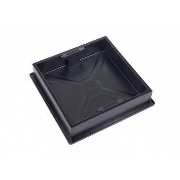 300 x 300 x 80mm Square To Round Manhole Cover and Frame